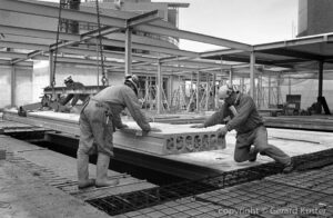 Hengelo de Brink in aanbouw 1998